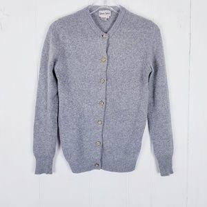 Neiman Marcus 100% Cashmere Cardigan Sweater